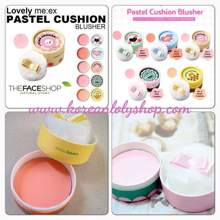 The Face Shop Lovely Me:ex Pastel Cushion Blusher.