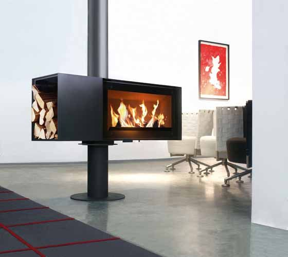 Skantherm Turn Wood Burning Stove From Fireplace Products