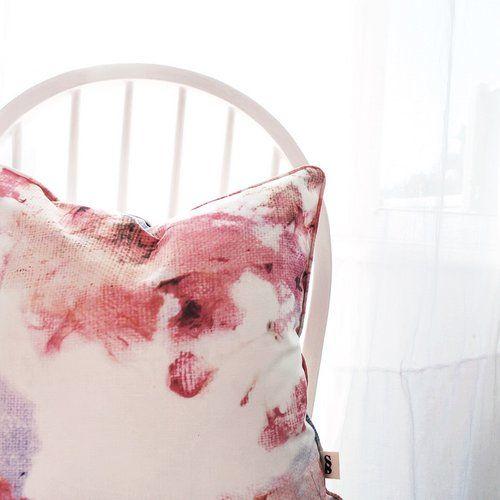 pink rose cushion sarahblythe.com