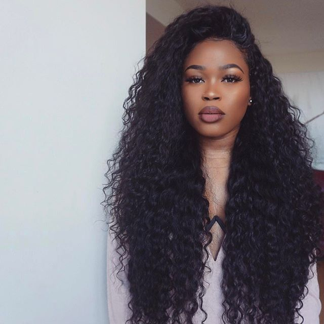 128.80 USD Eseewigs Sale 100% Virgin Human hair can be curled It is silk and soft,high quality. https://www.eseewigs.com/250-high-density-human-hair-lace-front-wigs-deep-curly-with-baby-hair-natural-hair-line-for-black-women_p2351.html