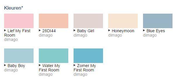 Trendkleur Pantone 2016 Roze quartz en Serenity. Deze verfkleuren passen prima bij deze trendkleur en zijn te mengen in verschillende soorten verf bij Deco Home Bos in Boxmeer.
