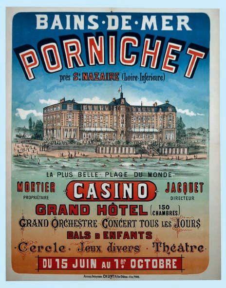 Pornichet Bains de Mer     vers 1900