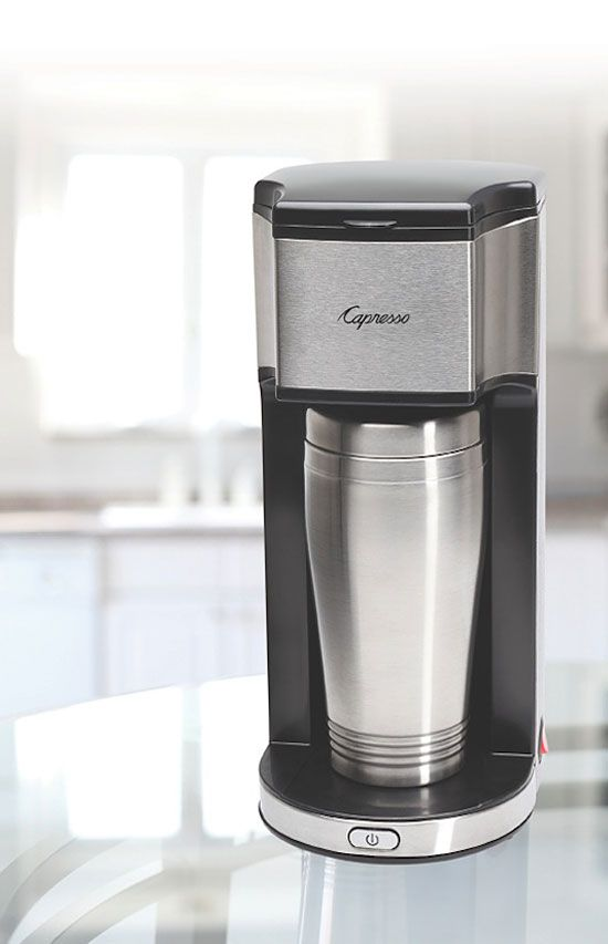 Capresso On-the-Go Personal Coffee Maker Giveaway | enter daily, closes October 5, 2014