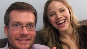 This is the author John Green. Also, Margo best friend and Ben's girlfriend, Lacey Pemberton.