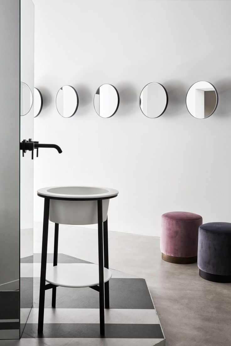 130 best images about lavabi on Pinterest | Get started, Vanities ... - I Catini collection - CIELO's showroom in Milan / art dir. and design:  Andrea