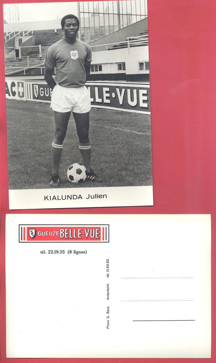 Carte Postale R S C A Julien Kialunda Gueuze Belle VUE | eBay
