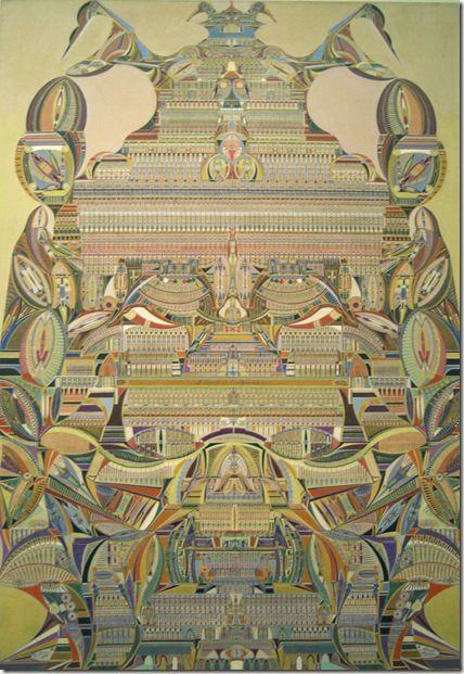 Augustin Lesage | Augustin Lesage – 1926 – L'esprit de la pyramide – Musée LAM