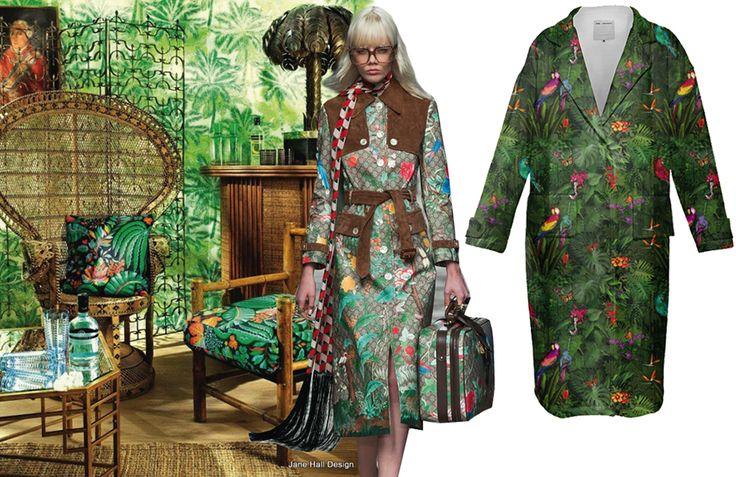 Exotica: wilde prints voor de lente van 2016 #trends #tropical #botanical #jungle #prints #patterns #SS16 #spring #interior