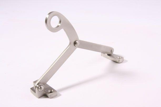 Raamuitzetter 170mm geborsteld/mat Nikkel [8RU7581] - 25.90EUR : Interieurbeslag.nl, Webwinkel voor deurkrukken, kapstokhaken, deur-, keuken- en meubelbeslag