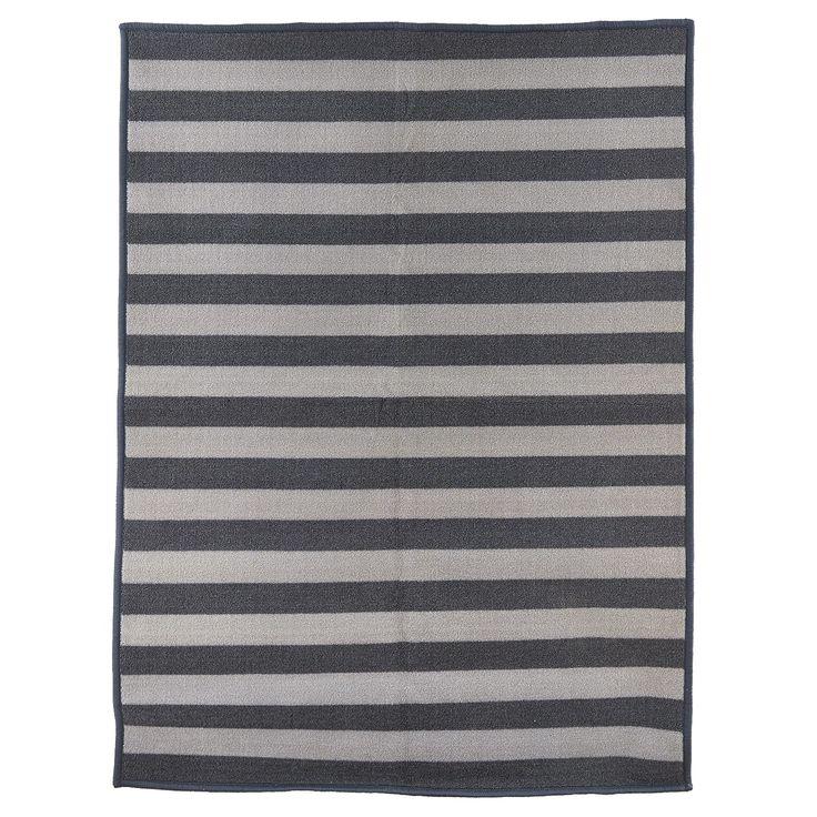 Stripe dørmatte 60x90, grå i gruppen Tepper / Tepper / Dørmatte hos ROOM21.no (130887)