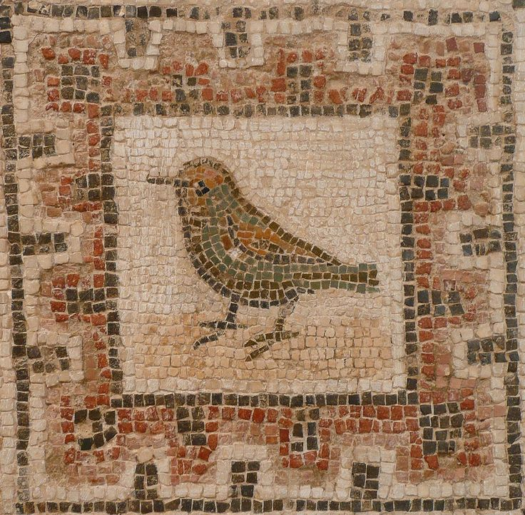 Bird Mosaic, El Jem