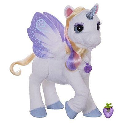 Qoo10 - Fur Real Friends FurReal Friends StarLily, My Magical Unicorn : Toys
