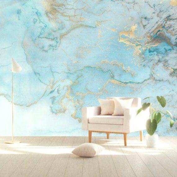 Carta Da Parati Wave Onde Astratte Adesivo Murale Nordic Art Wall Decor Modern Home Decor Sog Arredamento Moderno Soggiorno Carta Da Parati Idea Di Decorazione