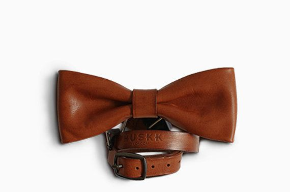 how to make a leather bow