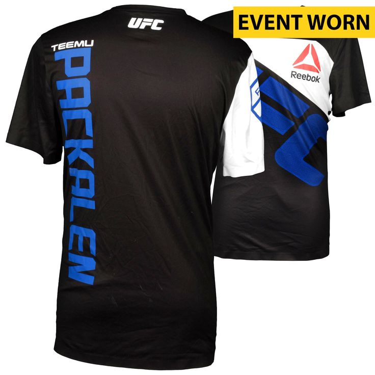 Teemu Packalen Ultimate Fighting Championship UFC Fight Night Bisping vs. Leites Event-Worn Walkout Jersey - Fought Mickael Lebout in a Lightweight Bout - $159.99