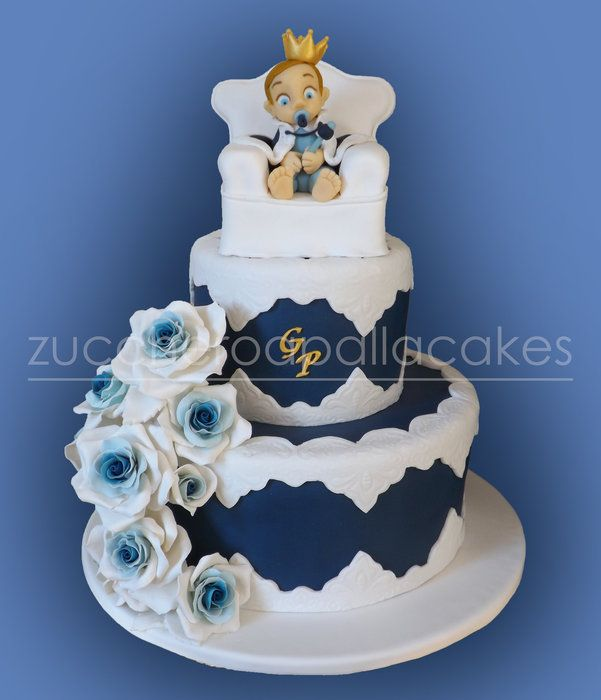 Little Prince Regal Cake - by ZUCCHEROAPALLACAKES @ CakesDecor.com - cake decorating website