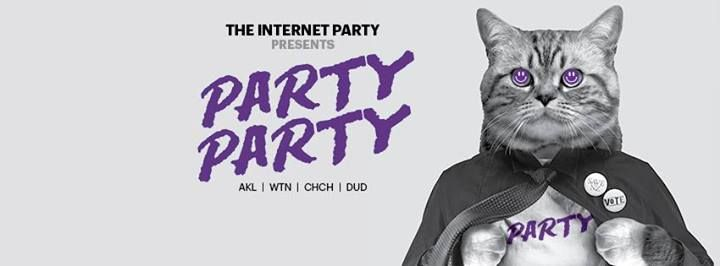 The Internet Party Party was a long time coming after Electoral Commission advice led to the last attempt being canned. Last night, more than six months later, the party finally kicked off at Auckland's Studio, which had most of New Zealand's top musical artists in the line up including PNC and P Money. Its purpose? To encourage youth to vote and to raise awareness of the Internet Party.