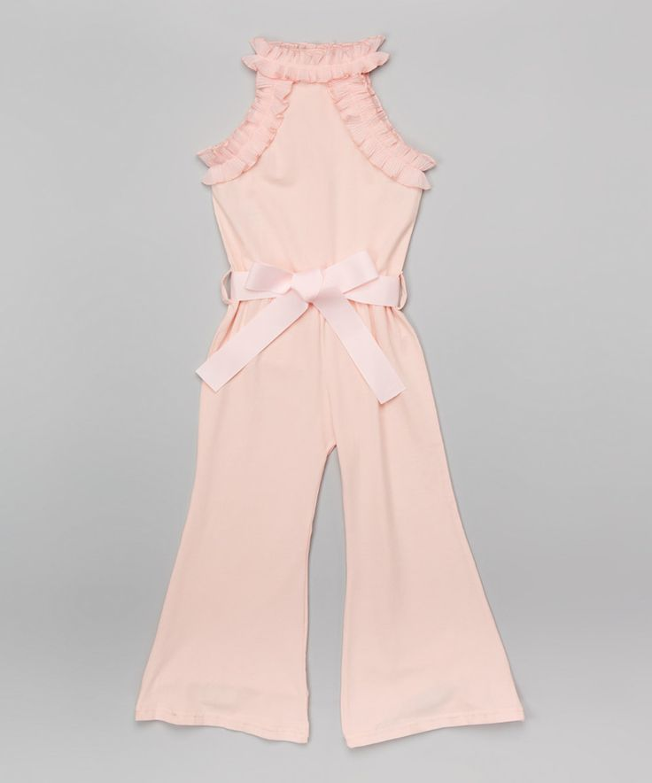 Another great find on #zulily! Pink Jumpsuit - Infant, Toddler & Girls by Blossom Couture #zulilyfinds