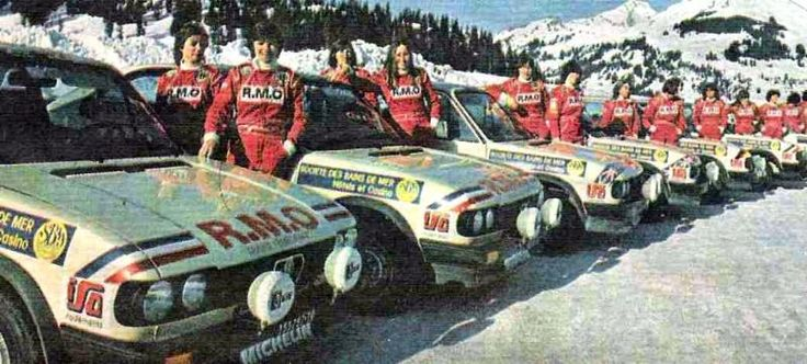 1983 Monte Carlo - the last Aseptogyl line-up.