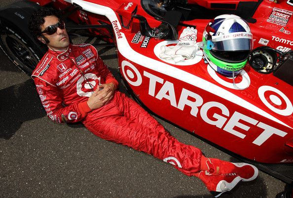 Dario Franchitti in Indianapolis 500 Mile Race