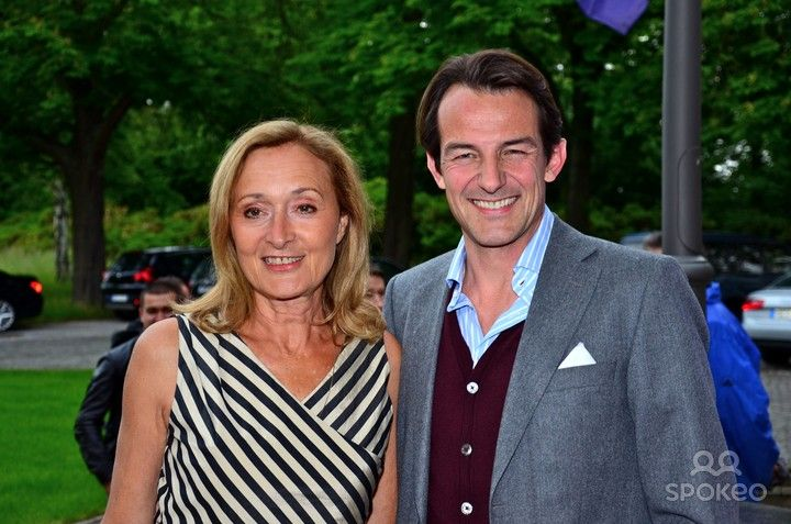 Eleonore Weisgerber and Hans-Werner Meyer at a cocktail party for the 40th International Emmy Awards at Villa Borsig. Berlin, Germany - 06.06.2012