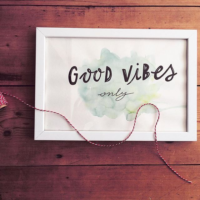 Good vibes only!  #lettering #goodtype #typespire #handlettering #thedailytype #handmadefont #type #quote #typelove #customtype