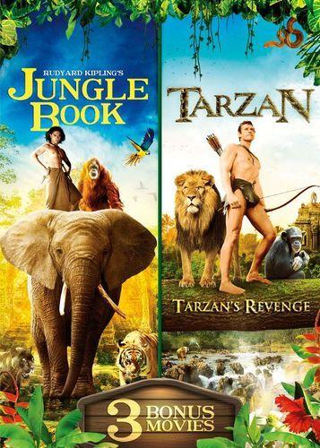 The Jungle Book/Tarzan: Includes 3 Bonus Movies [DVD]