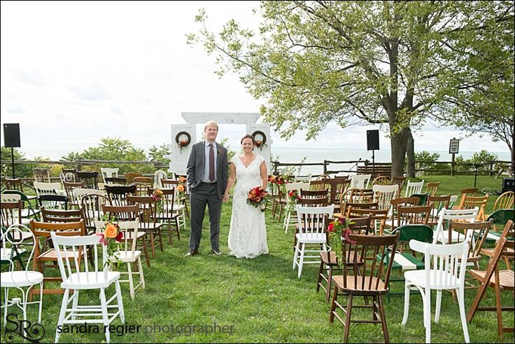 Vintage Wedding Ceremony - Bayfield Ontario - www.sandraregier.com