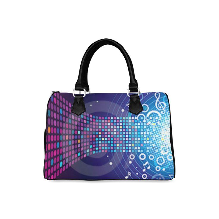 Music Barrel Type Handbag by katieskreations. #Fashionbags