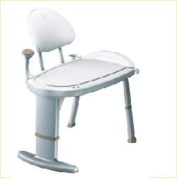 Moen Home Care Glacier Premium Transfer Bench
