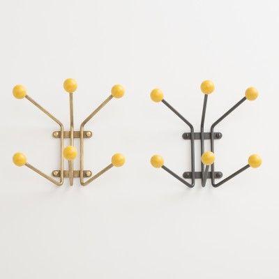 Mollie Hook - Industrial Yellow | Hooks | Hardware