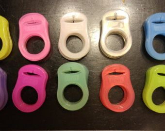 Clear MAM / NUK / Button Pacifier Adapter by Toysforchildren
