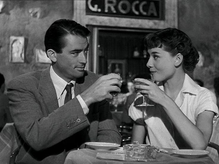 Gregory Peck/ Audrey Hepburn: Roman holiday  Bing images