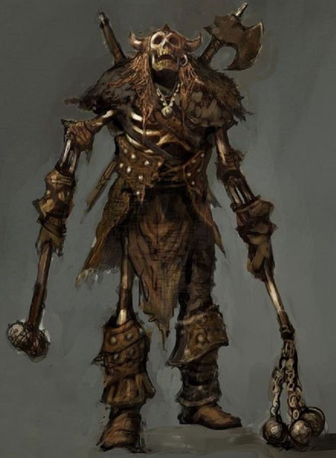 Skeletal Barbarian from Rift