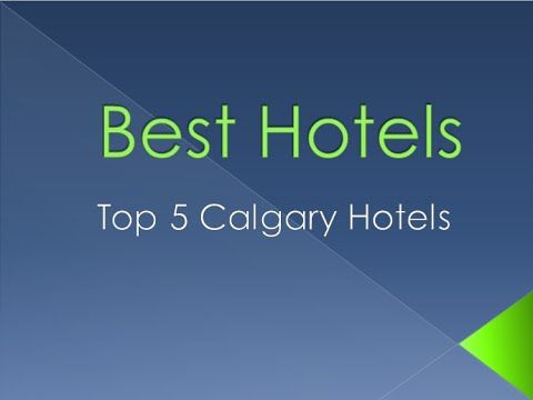 Check out the top 5 hotels in Calgary, Alberta, Canada. These hotels will provide you with a memorable vacation and are some of the best hotels in Alberta. Stay in downtown Calgary and experience the best city environment Alberta has to offer for travel!