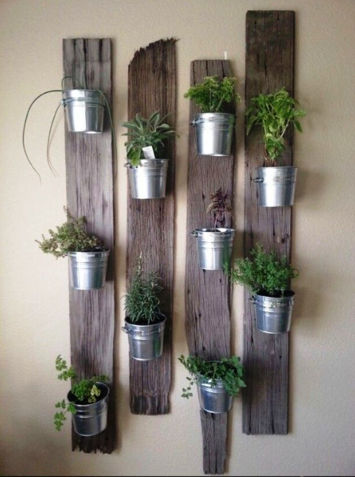 Easy Diy Indoor Herb Garden Gardening Steps Vertical Garden
