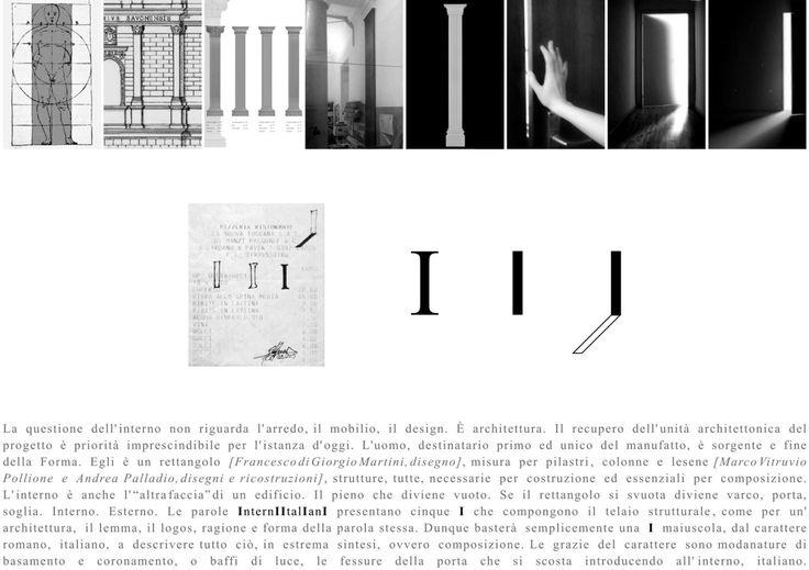 INTERNI ITALIANIStudio del logo per Interni Italiani   Stefanos Antoniadis 2015.
