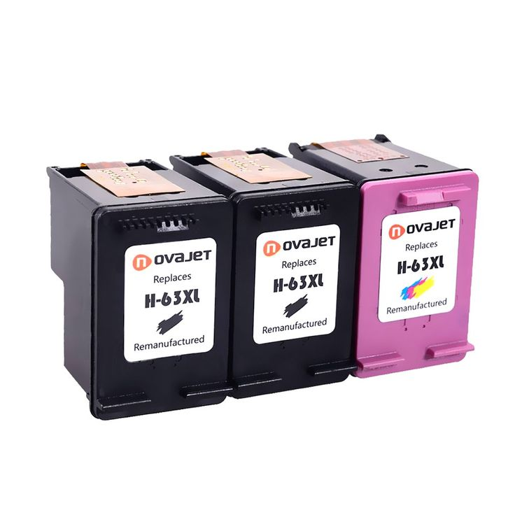 Novajet remanufactured ink cartridge replacement for hp