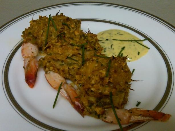 Baked Stuffed Shrimp with Crabmeat Stuffing...Made these for New Years....loved them! (bring the tail up over the top for better presentation!)