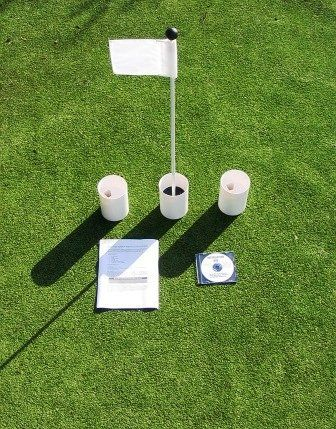 Practice Putting Green - Natural or Synthetic - Accessory...