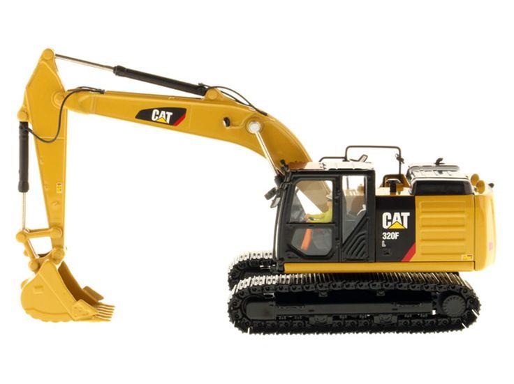 Diecast Masters - Caterpillar 320F Hydraulic Excavator #85931