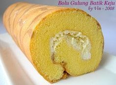 Enjoyable Baking: Bolu Gulung Batik Keju