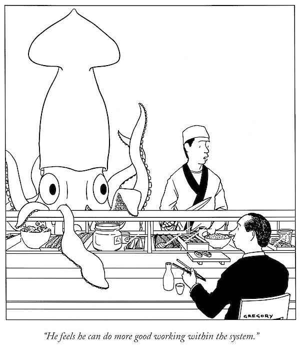 Cartoon by Alex Gregory