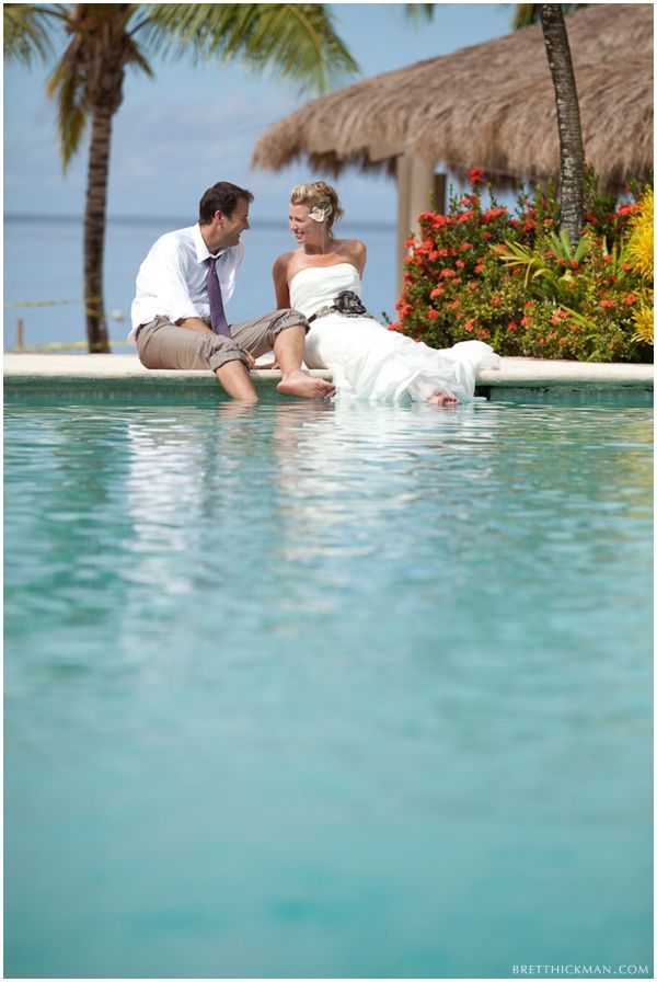 A St Lucia Destination Wedding By Brett Hickman Photography