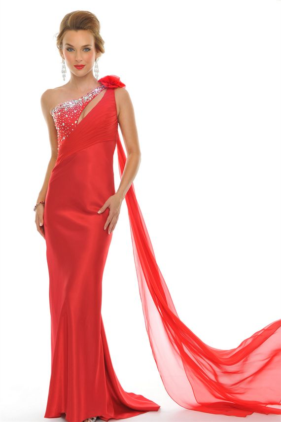 Red Color Party dress for Women  Party Dresses Ideas 2015