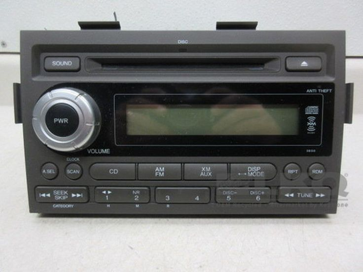 Awesome Honda 2017: 2006 Honda Ridgeline CD Player Radio 3BS0 OEM #Honda...  Truck Check more at http://carsboard.pro/2017/2017/03/17/honda-2017-2006-honda-ridgeline-cd-player-radio-3bs0-oem-honda-truck/