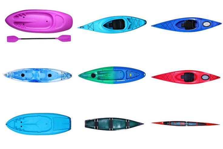 CHEAP SEA KAYAK FOR SALE, ROTO-MOULDED SIT ON TOP KAYAK $50~$1000