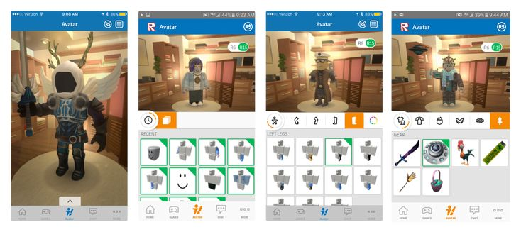 Avatar Editor for Smartphones - Roblox Blog