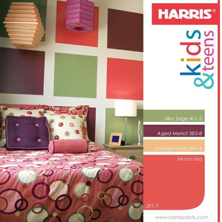 34 best harris paints images on pinterest blue color - Colores para pintar paredes ...