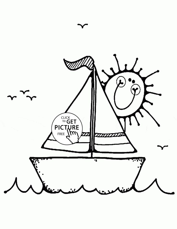 Fishing Boat Coloring Pages Apigramcom